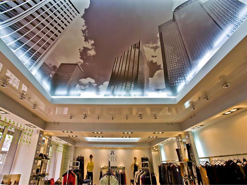 Купить натяжной потолок