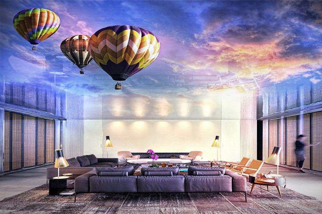3D натяжные потолки в Челябинске