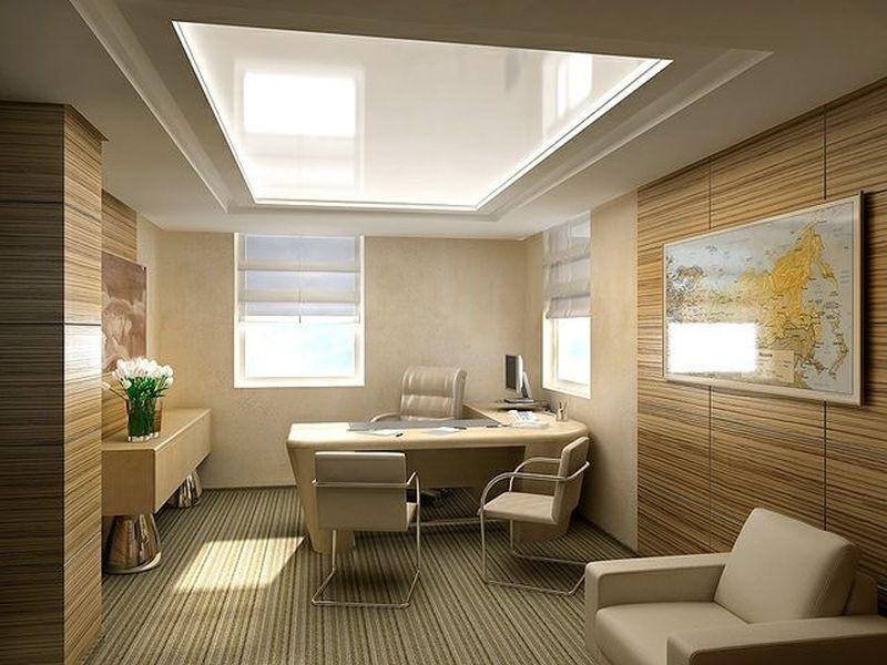 Купить натяжной потолок для офиса